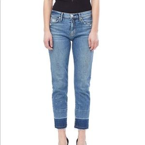 NWT Hudson High Rise Zoeey ankle jeans